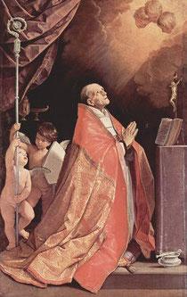 Extase de Saint André Corsini Guido Reni florence