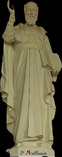 Statue de SAint Mathurin Eglise de Saint Vigor des Monts
