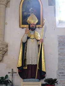 Saint Aignan Eglise de Guéhebert Manche