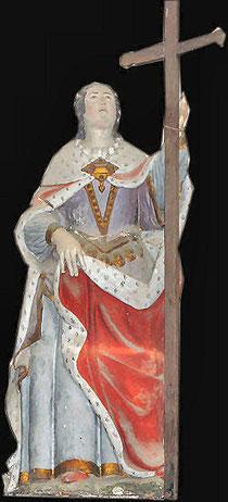 Statue de Sainte Héléne Eglise d'Orval Manche 50