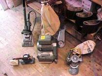 Verleih von Parkettschleifmaschinen in Kladow