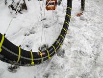 L'hiver arrive, équipez vos roues correctement pour éviter les pertes d'adhérence !