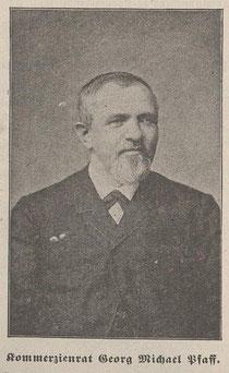 Kommerzienrat Georg Michael Pfaff