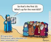 Моше приносит Тору Народу Израиля