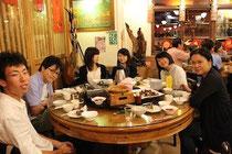 台湾料理の夕食もご一緒しました