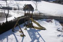 Eigener Spielplatz im Garten