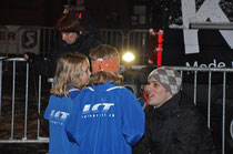 LCT'lerinnen beim Interview (Foto: H.R. Heiniger)