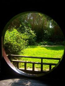 Zen ouverture sur un jardin