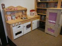 手作り木製キッチン(名古屋の親友製作)さらにバージョンアップ中