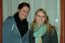 Neue Leiterinnen: Joy Kayser und Julia Schneider