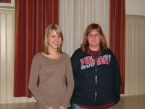 Neue Vereinsmitglieder: Nadine Hauser und Monika Meile