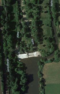 Wehr bei Laubenheim (google maps)