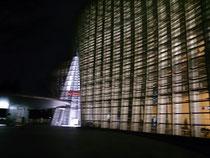 夜の美術館の方がきれい…