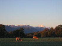 Les Pyrénées et le Pic du Midi