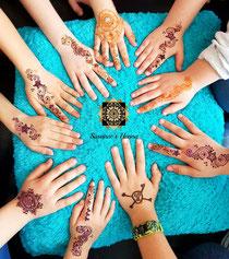 Henna Geburtstagsparty