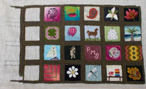 Janice Frank, Friendship rug.