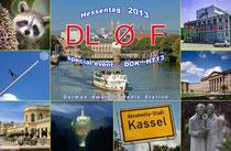 QSL-Karte zum Hessentag