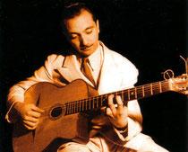 オーヴァル・ホールのギター