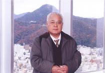 岐阜シティ・タワー43 最上階展望室にて