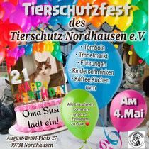 Tierschutzfest- Oma Susi wird 21