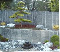 Granitbrunnen Kaskaden