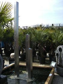 Vierkant Säulenbrunnen