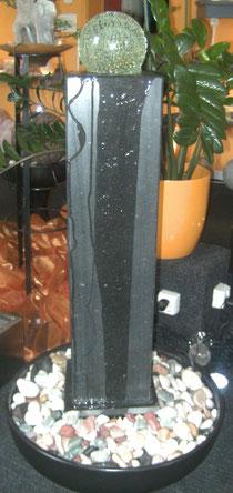 Granitsäule mit 15cm Kugel