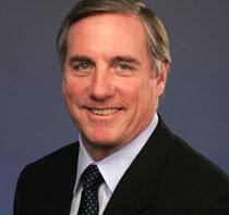 Hat dieser Tage eher wenig zu lachen und musste sich u.a. selbst das Gehalt kürzen: THQ-Chef Brian Farrell.