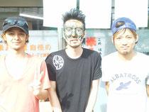 YAMATOさん&俺&HIROKIさん