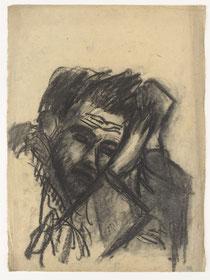 Schlafender Mann (Selbstbildnis) 1920-30