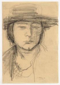 Frau mit Hut (1918)