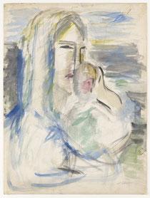 Mutter mit Kind um 1920