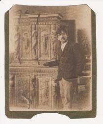 Jussuf Abbo in Jerusalem, vor 1911