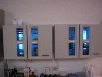 基本セット用紫外線保管庫の写真