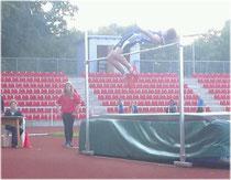 Leider noch gerissen: Aleksej bei 1,84m.