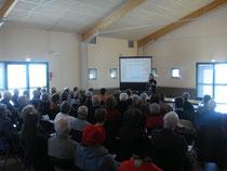 Participants à la réunion d'information sur la podologie - 22.03.2011