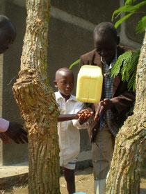 Ein Tip-Tap zum Händewaschen