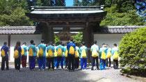 比叡山浄土院にて
