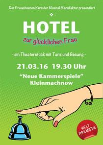 Hotel zur glücklichen Frau Theaterkur für Erwachsene - Amateurtheater Schauspiel für Laien