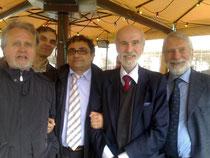 Il Presidente Salsano con il gruppo Dirigente CAD Toscana