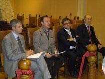 Ass. Michele Toniaccini, Sindaco Alvaro Verbena, Presidente Salsano, Danilo Supini