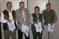 Egidius Weber, Peter Zimmermann, Hedwig Eger, Lothar Eger