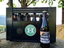 Helles Bier mit Alpenkräuter