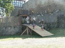 Heathshot!!! Der arme Ritter war sowas von.......NASS