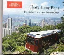Cover der Reportage-CD und des Hörbuches über Hong Kong