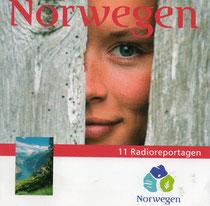 Cover der Radioreportage-CD über Norwegen