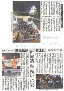 静岡・中日新聞(朝刊)