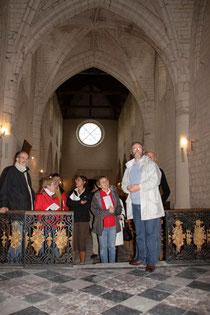 visites guidées de la collégiale Saint Martin de Picquigny
