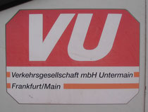 Das Logo der noch jungen VU.