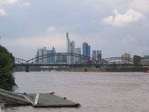 """Vom Ufer aus im Blick: """"Mainhatten""""."""